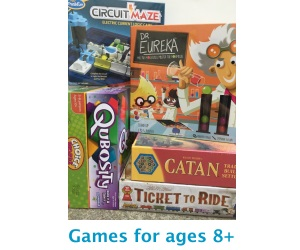 Ages 8 and Up Games