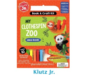 Klutz Jr My Clothespin Zoo