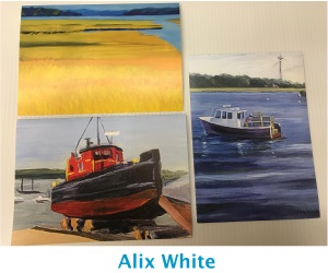 Alix White Cards
