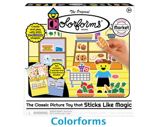 Colorforms Picture Market Playset