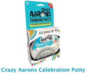 Crazy Aaron's Celebrate Thinking Putty