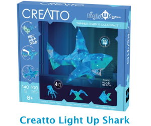 Creatto Light Up Shark Thames and Cosmos