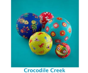Crocodile Creek balls