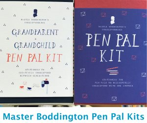 Master Boddington's Pen Pal Kits