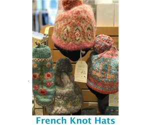 French Knot Hats