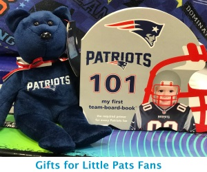 Gifts for Little Patriots Fans