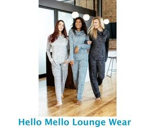 Hello Mello Lounge Wear