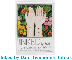 Inked by Dani Temporary Tatoos