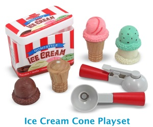Melissa & Doug Ice Cream Playset