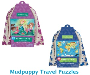 Mudpuppy Travel Puzzles