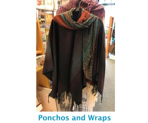Ponchos and Wraps