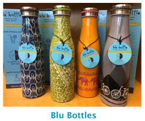 Blu Bottle water bottles