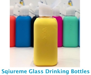 Squireme Glass Drinking Bottles