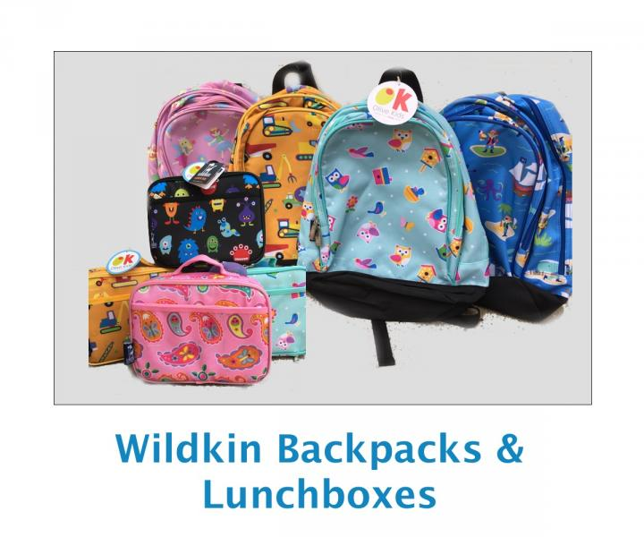 Wildkin backpack lunchbox